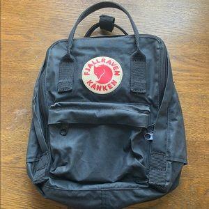 Fjällräven Kånken Black Mini Backpack Bag